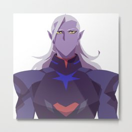 Prince Lotor - Voltron Legendary Defender Metal Print