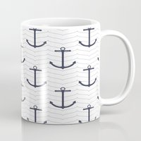 nautical Mugs featuring Nautical by Background Labs