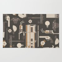 walking dead Area & Throw Rugs featuring The Walking Dead by Tracie Andrews