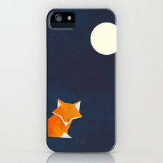 Origami Fox and Moon iPhone (5, 5s) Slim Case
