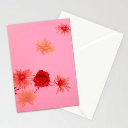 Fall Flowers in a Milk Bath Stationery Cards