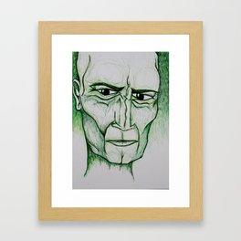 Visage 4 Framed Art Print