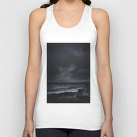snow Tank Tops featuring I´m fading by HappyMelvin