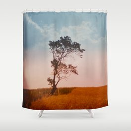 einsamkeit Shower Curtain
