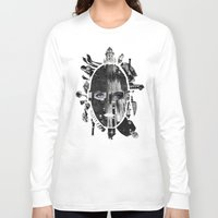 metropolis Long Sleeve T-shirts featuring Metropolis by DLS Design