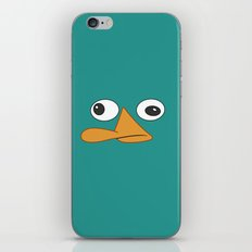 Perry the Platypus  iPhone & iPod Skin
