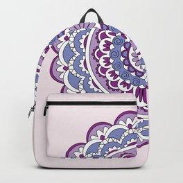 colorful mandala violet Backpack