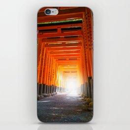 Fushimi Inari Taisha torii, Kyoto, Japan iPhone Skin