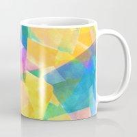 desert Mugs featuring Desert by Amy Sia