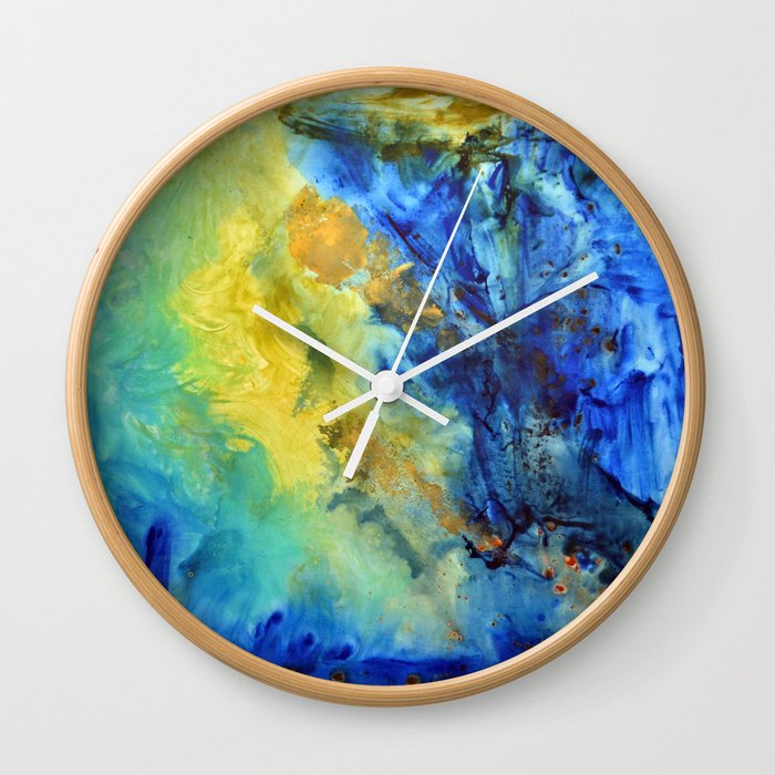 """Wave"" Wall Clock"