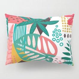 Matisse Inspired Pop Art Tropical Fun Jungle Pattern Pillow Sham