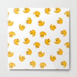Rubber duck toy Metal Print