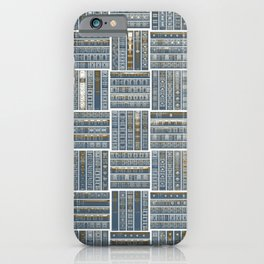 The Bookish Checkerboard iPhone Case