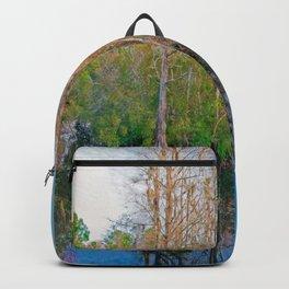 Waccamaw Creek Reflections Backpack