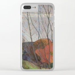The Willow Tree Clear iPhone Case