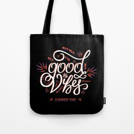 Good Vibes Summer Time Tote Bag