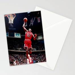 Michael Jorda-n Dunk Contest Canvas, Basketball, Wall Art Decor, Canvas Wall Art Various Size Decor for Home and Office Stationery Cards