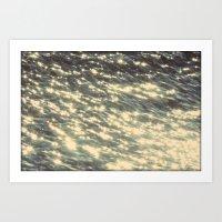 sparkles Art Prints featuring Sparkles  by Julia Kovtunyak