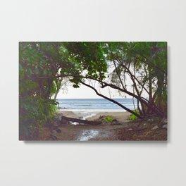 Playa Tamarindo Metal Print
