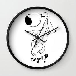 angel..? Wall Clock