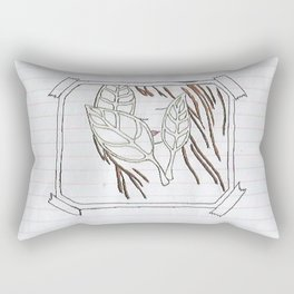 on the nature of things Rectangular Pillow