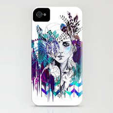 Tribal Girl - Colourway - iPhone (4, 4s) Slim Case