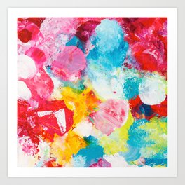 Beautiful Accidents (Brighter Days) Art Print