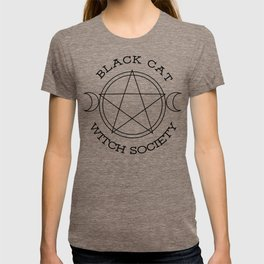 Black Cat Witch Society T-shirt