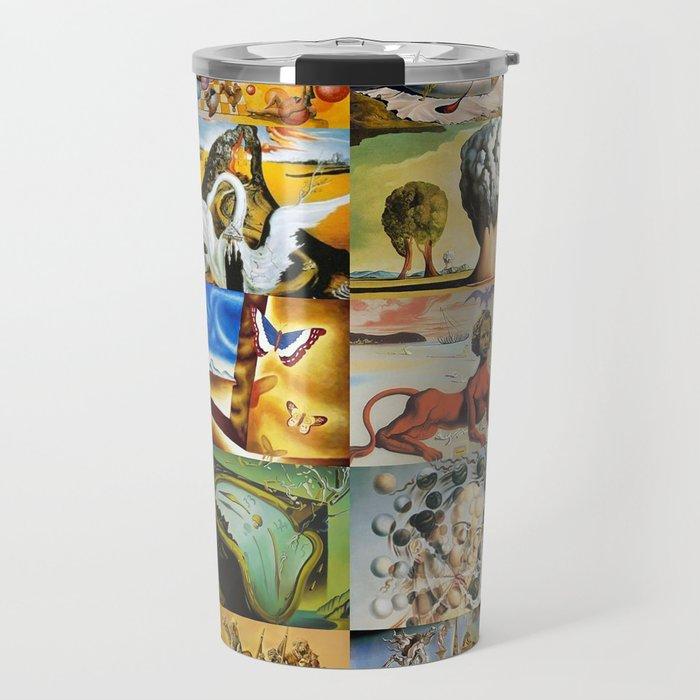 Salvador Dali Travel Mug
