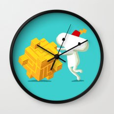 The Prince with a FEZ Wall Clock