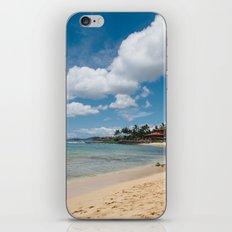 Poipu beach iPhone & iPod Skin
