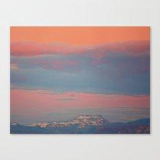 Last Night's Sky 1 Canvas Print