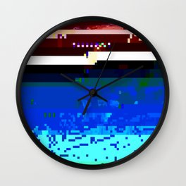 Ocean Death Wall Clock