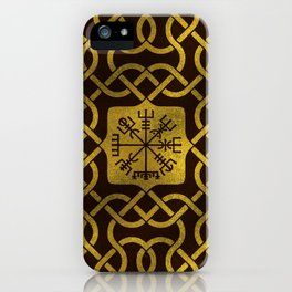Vegvisir - Viking  Navigation Compass iPhone Case