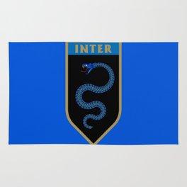 Milan Blue Badge Rug