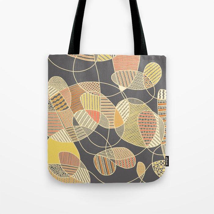 Tangled (grey version) Tote Bag