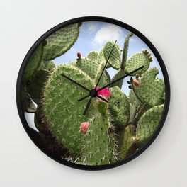 Nopales Wall Clock