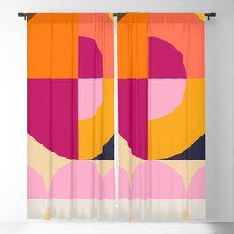 Spring- Pantone Warm color 04 Blackout Curtain