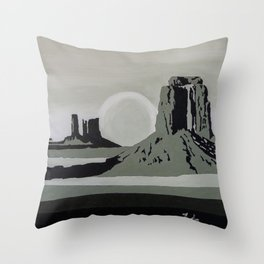 Monument Valley #1 Throw Pillow