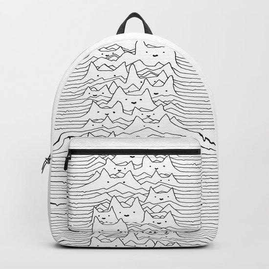 Furr Division White Backpack