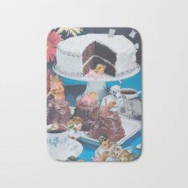 Tooth Cake Bath Mat