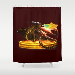 The Largest Hoard Shower Curtain