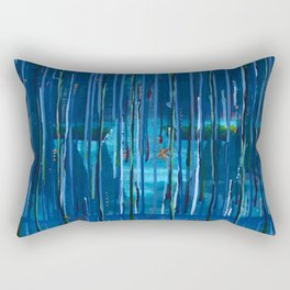 Trickling Engima Rectangular Pillow