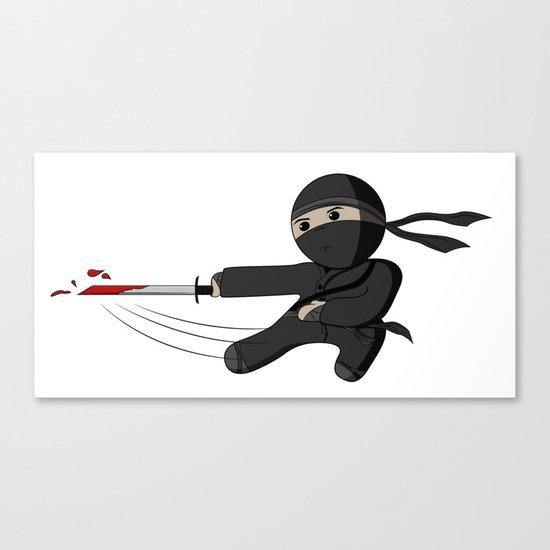 Ninja Swing Canvas Print