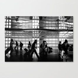 Arriving Home Canvas Print