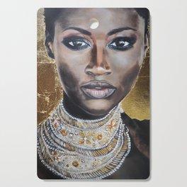 Graceful Ebony Cutting Board