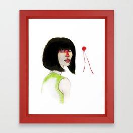 Angelina Framed Art Print