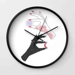 You are my Moon, my Sun Wall Clock