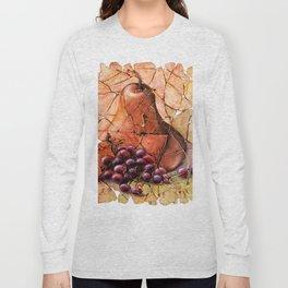Pear & Grapes Fresco Long Sleeve T-shirt