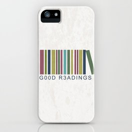 Good Readings are priceless iPhone Case